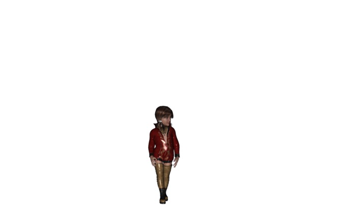 child_girl_character_rigged_3d_model_fbx_free