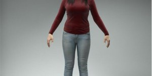 free-3d-model-rigged-woman