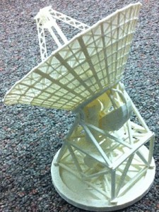 BWG Deep Space Station Antenna 3d printed